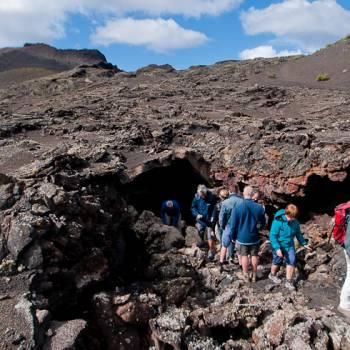 Senderismo route dans Parque Natural de los Volcanes